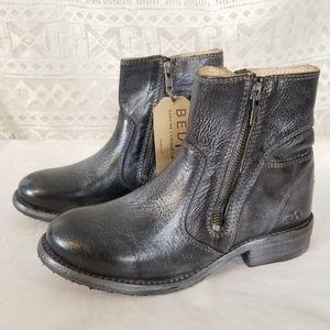 NWOT Bed Stu Effie Double Zipper Ankle Boots